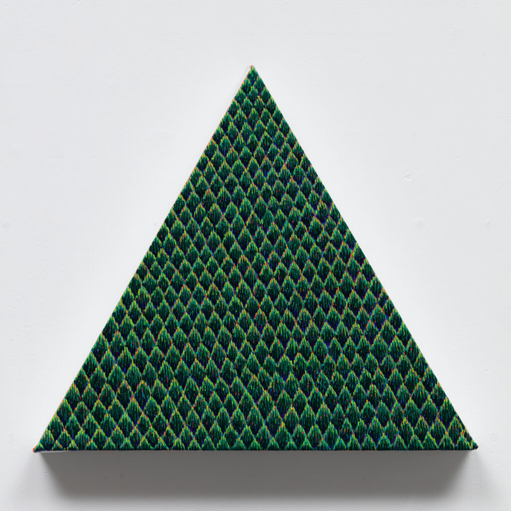 Spiky,2019,acrylicandoiloncanvas,27×30cm