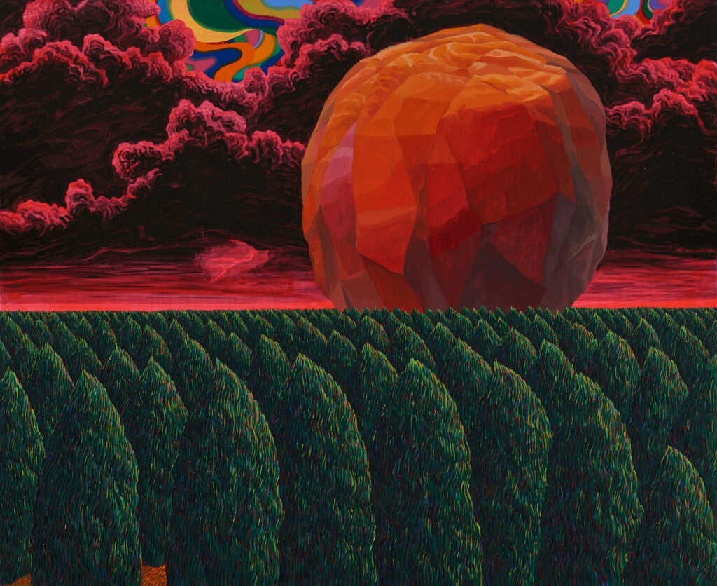 MovingStone,2014,oiloncanvas,53×65.1cm